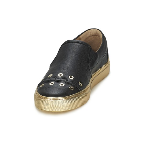 Sonia Rykiel MINI ŒILLETS Schwarz Schuhe Slip on Damen 209,50 209,50 Damen 7ccde0