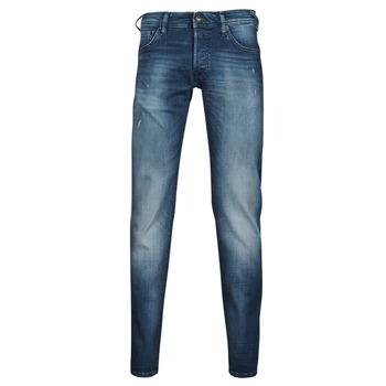 Kleidung Herren Slim Fit Jeans Jack & Jones JIGLENN JJROCK Blau