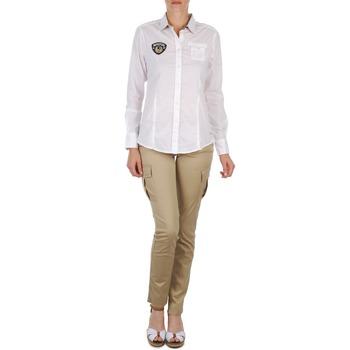 Kleidung Damen 5-Pocket-Hosen Napapijri MYOSA Beige