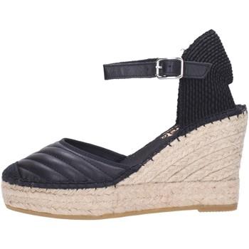 Schuhe Damen Leinen-Pantoletten mit gefloch Vidorreta 13032 Multicolore