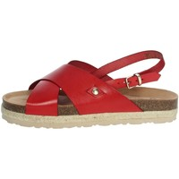 Schuhe Damen Sandalen / Sandaletten Yokono JAVA-153 Rot