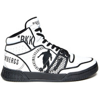 Schuhe Herren Sneaker High Bikkembergs - sigger_b4bkm0103 Weiss