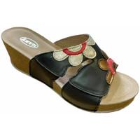 Schuhe Damen Pantoffel Calzaturificio Loren LOQ6948ner nero