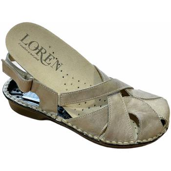 Schuhe Damen Sandalen / Sandaletten Calzaturificio Loren LOM2867tor tortora