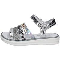 Schuhe Mädchen Sandalen / Sandaletten Asso AG-10901 SILBER