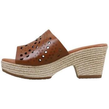 Schuhe Damen Pantoffel Sandra Fontan  Braun