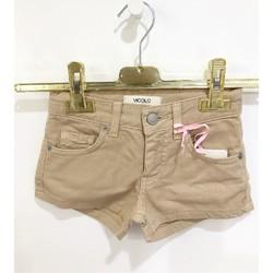 Kleidung Mädchen Shorts / Bermudas Vicolo 3146D0340 KURZE HOSE Kind BEIGE BEIGE