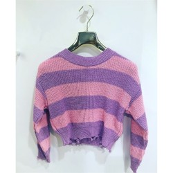 Kleidung Mädchen Pullover Vicolo 3146W0280 Pullover Kind LILAC / ROSA LILAC / ROSA