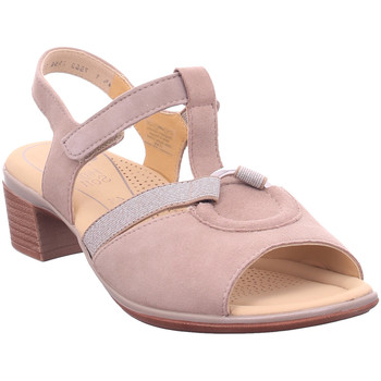 Schuhe Damen Sandalen / Sandaletten Ara LUGANO TAUPE 4