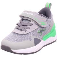 Schuhe Jungen Sneaker Low Kangaroos KD-Gym EV vapor grey/neon green 2198