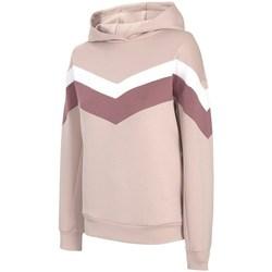 Kleidung Damen Sweatshirts 4F BLD020 Beige