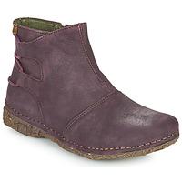 Schuhe Damen Boots El Naturalista ANGKOR Bordeaux