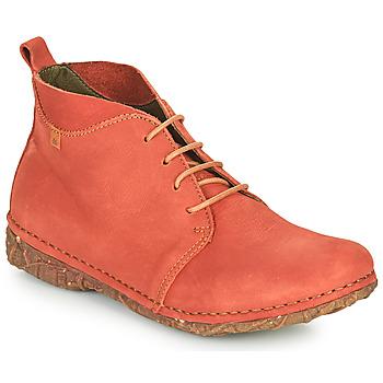 Schuhe Damen Boots El Naturalista ANGKOR Rot