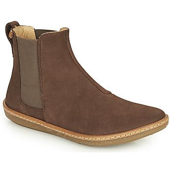 Schuhe Damen Boots El Naturalista CORAL Braun