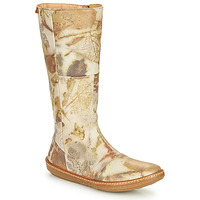 Schuhe Damen Klassische Stiefel El Naturalista CORAL Grau