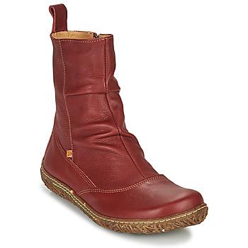 Schuhe Damen Boots El Naturalista NIDO ELLA Bordeaux
