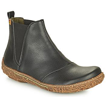 Schuhe Damen Boots El Naturalista NIDO ELLA Schwarz