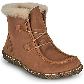 Schuhe Damen Boots El Naturalista NIDO ELLA Braun