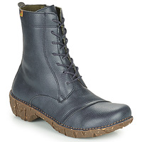 Schuhe Damen Boots El Naturalista YGGDRASIL Marine