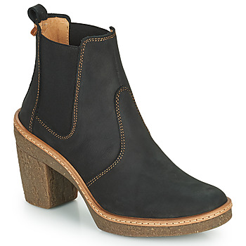Schuhe Damen Low Boots El Naturalista HAYA Schwarz