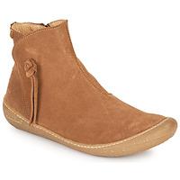 Schuhe Damen Boots El Naturalista PAWIKAN Braun