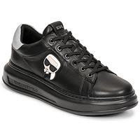 Schuhe Herren Sneaker Low Karl Lagerfeld KAPRI MENS KARL IKONIC 3D LACE Schwarz