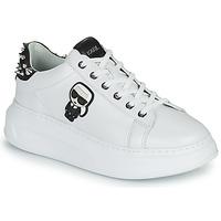Schuhe Damen Sneaker Low Karl Lagerfeld KAPRI KARL IKONIC STUD TAB Weiss