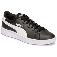 Schuhe Kinder Sneaker Low Puma SMASH JR Schwarz