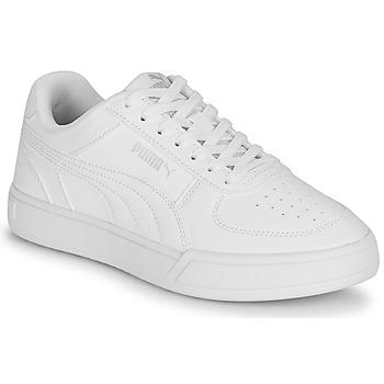 Schuhe Kinder Sneaker Low Puma CAVEN JR Weiss