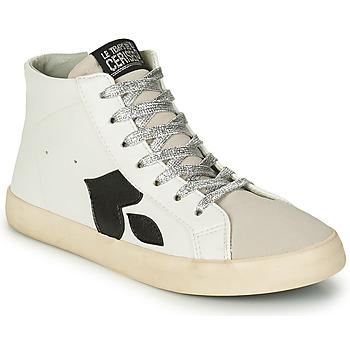 Schuhe Damen Sneaker High Le Temps des Cerises AUSTIN Weiss
