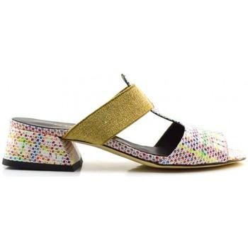 Schuhe Damen Pantoffel Brunate 49542 pulce multi Multicolor