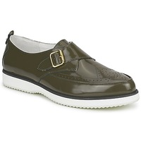 Schuhe Damen Derby-Schuhe McQ Alexander McQueen 308658 Grün