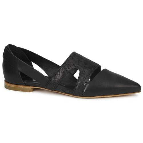 McQ Alexander McQueen 318321 Schwarz Schuhe Ballerinas Damen 177,50