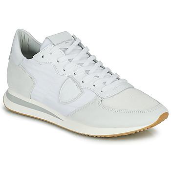 Schuhe Herren Sneaker Low Philippe Model TRPX LOW BASIC Weiss