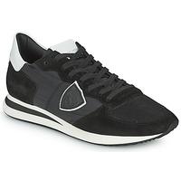 Schuhe Herren Sneaker Low Philippe Model TRPX LOW BASIC Schwarz