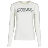 Kleidung Damen Pullover Guess ELVIRE RN LS SWTR Beige