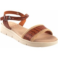 Schuhe Damen Sandalen / Sandaletten Duendy Lady  3206 Leder Braun