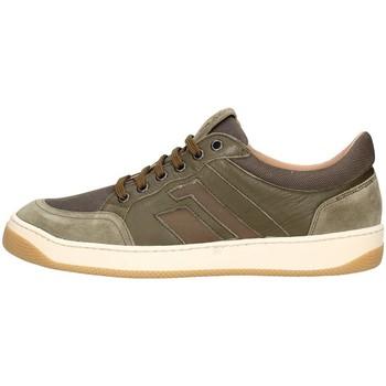 Schuhe Herren Sneaker Low Frau 2946 Turnschuhe Mann Grün Grün