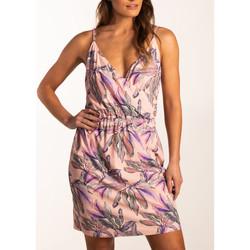 Kleidung Damen Kurze Kleider Beachlife Sommerkleid mit dünnen Trägern Beachwear Elfenbein