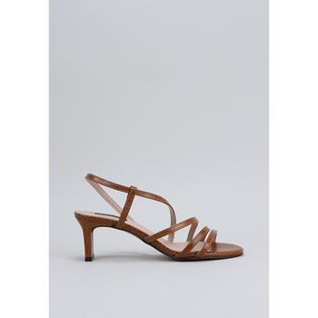 Schuhe Damen Sandalen / Sandaletten Krack  Braun