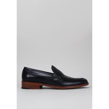 Schuhe Herren Slipper Roberto Torretta  Schwarz