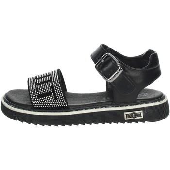 Schuhe Mädchen Sandalen / Sandaletten Cult STONE Schwarz
