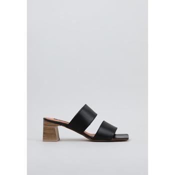 Schuhe Damen Pantoffel Krack  Schwarz