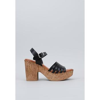 Schuhe Damen Sandalen / Sandaletten Musse & Cloud  Schwarz