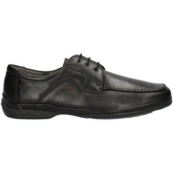 Schuhe Herren Slipper Fluchos 7145PE21 geschnürtes Harren SCHWARZ SCHWARZ