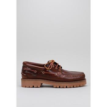 Schuhe Herren Bootsschuhe CallagHan  Braun