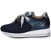 Schuhe Damen Sneaker Low Comart 1A3451 BLAU