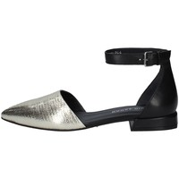 Schuhe Damen Ballerinas Elvio Zanon EN1803 PLATIN