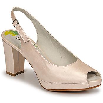 Schuhe Damen Pumps Dorking MODALIA Beige