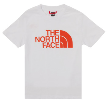 Kleidung Jungen T-Shirts The North Face EASY TEE SS Weiss